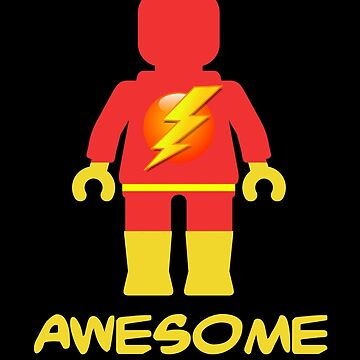 Lightning Minifig Awesome Powers by ChilleeW