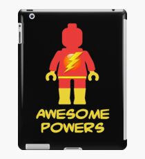 Lightning Minifig Awesome Powers iPad Case/Skin