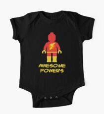 Lightning Minifig Awesome Powers One Piece - Short Sleeve