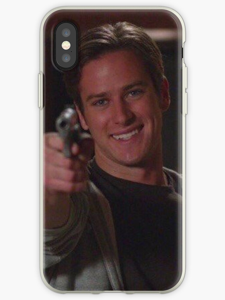 armie hammer but with gun by moisturizeds
