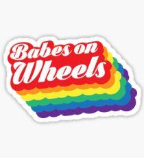 Babes auf Rädern Sticker