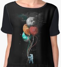The Spaceman's Trip Chiffon Top