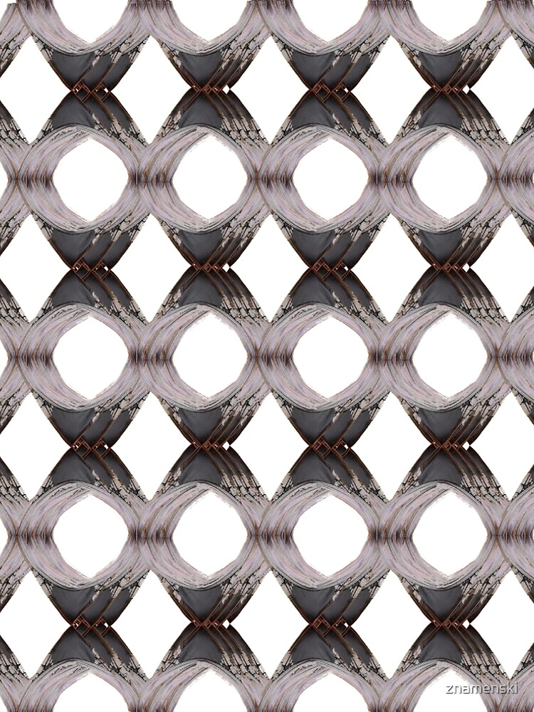 Pattern, tracery, weave, template, routine, stereotype, gauge, mold by znamenski
