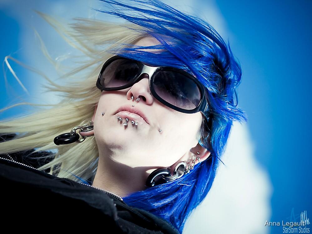 Blue by Anna Legault