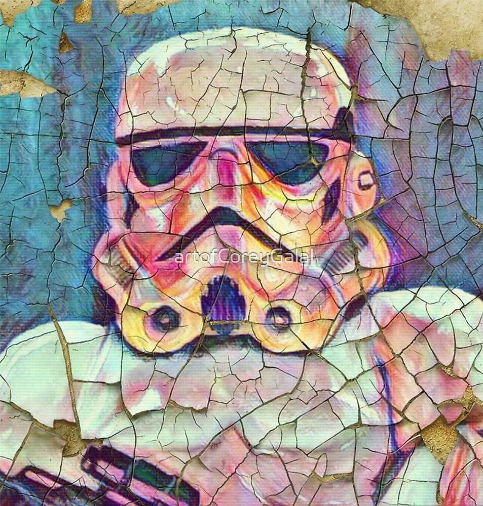 Old trooper by artofCoreyGalal