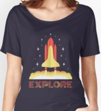 Explore Women's Relaxed Fit T-Shirt