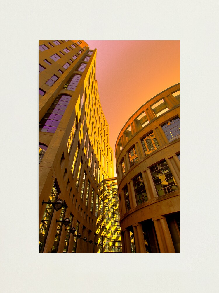 Alternate view of Vancouver Public Library Photographic Print