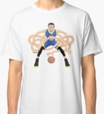 Gnarly Handles - Curry blue Classic T-Shirt