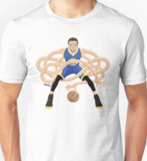 Gnarly Handles - Curry blue Unisex T-Shirt