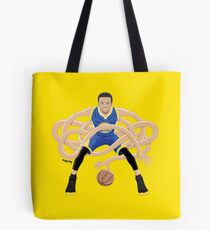 Gnarly Handles - Curry blue Tote Bag