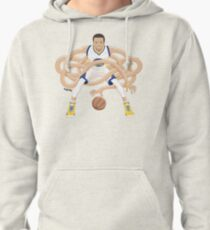 Gnarly Handles - Curry white Pullover Hoodie