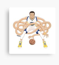 Gnarly Handles - Curry white Canvas Print