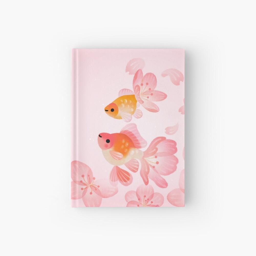 Cherry blossom goldfish 1 Hardcover Journal