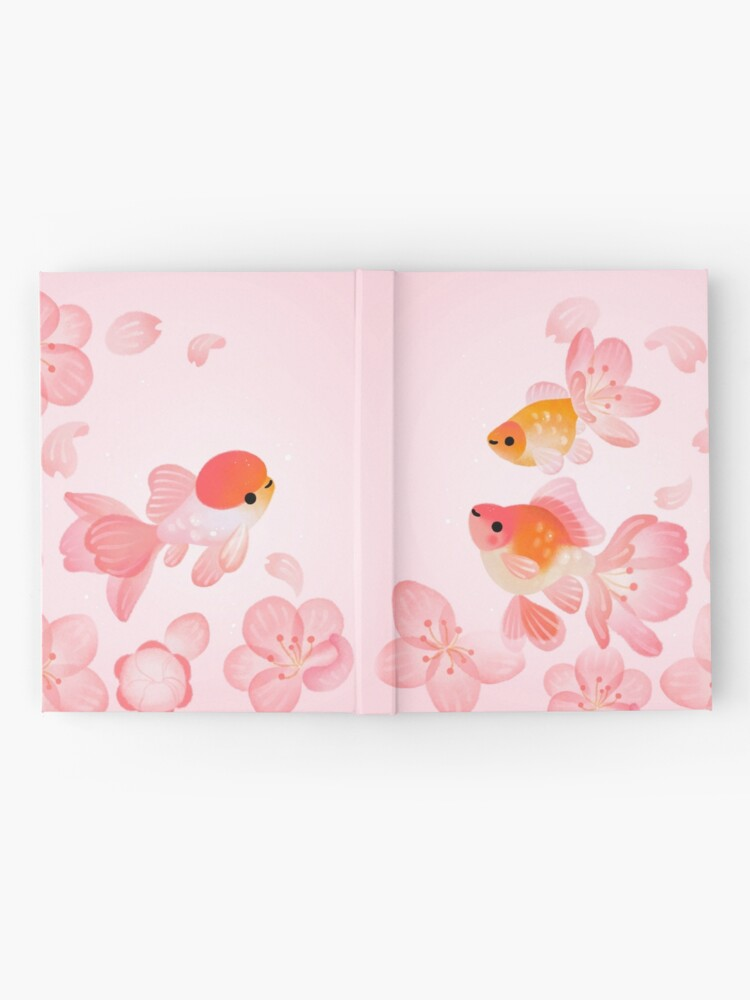 Alternate view of Cherry blossom goldfish 1 Hardcover Journal
