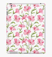 Vinilo o funda para iPad Girly se sonroja la ilustración floral moderna verde rosada