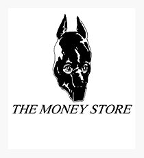 the money store gimp Photographic Print