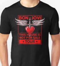 Bon Jovi Tour 2018 Slim Fit T-Shirt