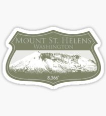 Mount St. Helens Sticker