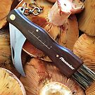 Mushroom knife by Alexander Meysztowicz-Howen