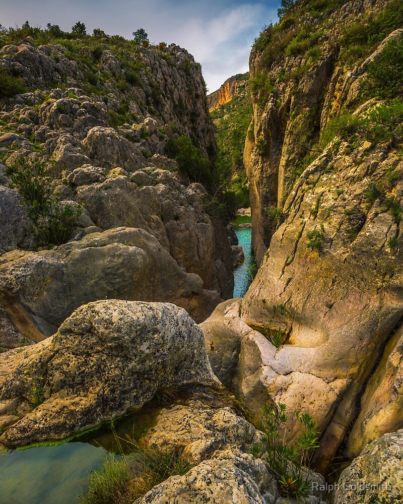 The narrows at Enchanted Gorge by Ralph Goldsmith