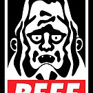 Obey Beefsquatch by PeterParkerPA
