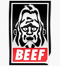 Obey Beefsquatch Poster