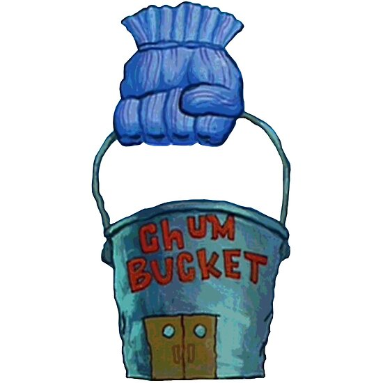 chum bucket posters by katikat redbubble