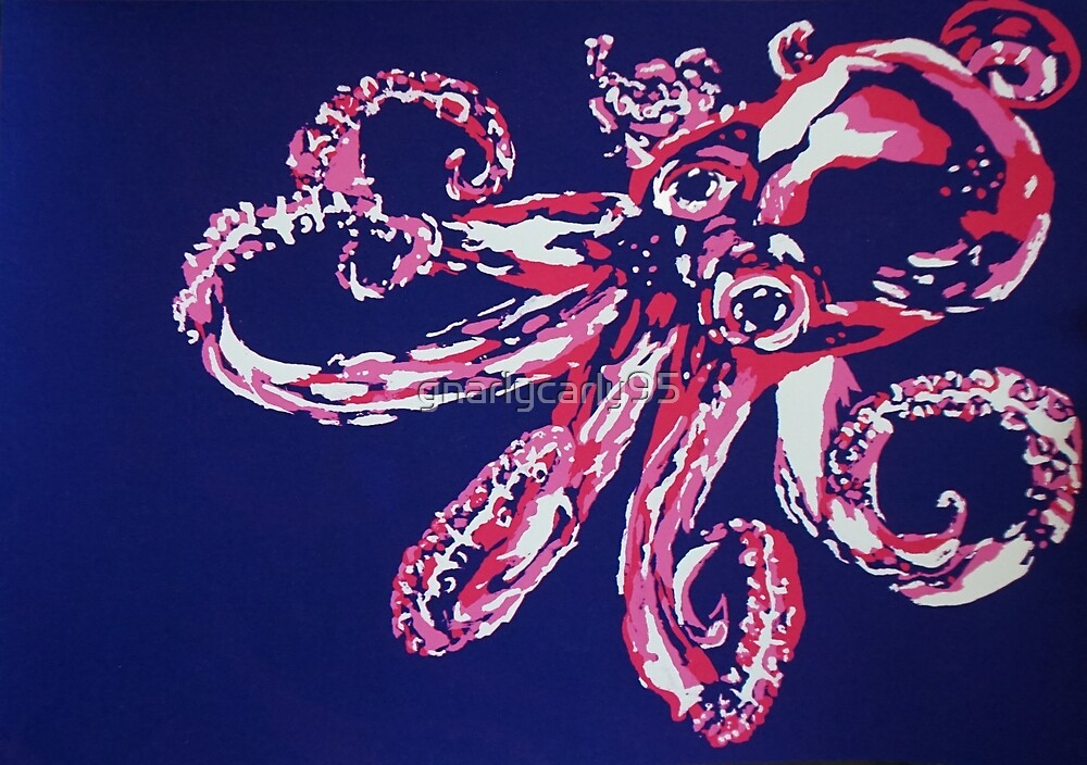 3D Octopus by gnarlycarly95