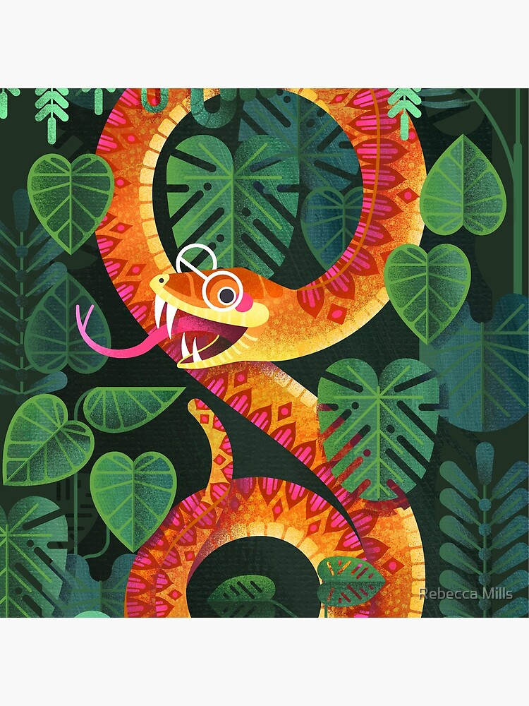 Mr Snake Visited the Optometrist by RebecccaMills