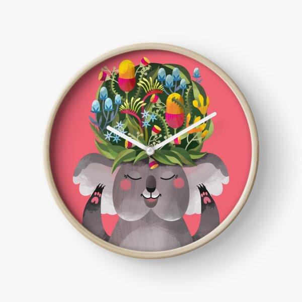 Ms Koala's Fabulous Hat Clock