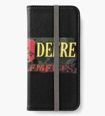 John Deere Camo sign. John Deere Farm Implements iPhone Wallet/Case/Skin