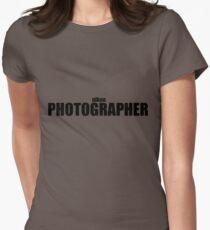 Nikon Photographer (Black) Women's Fitted T-Shirt