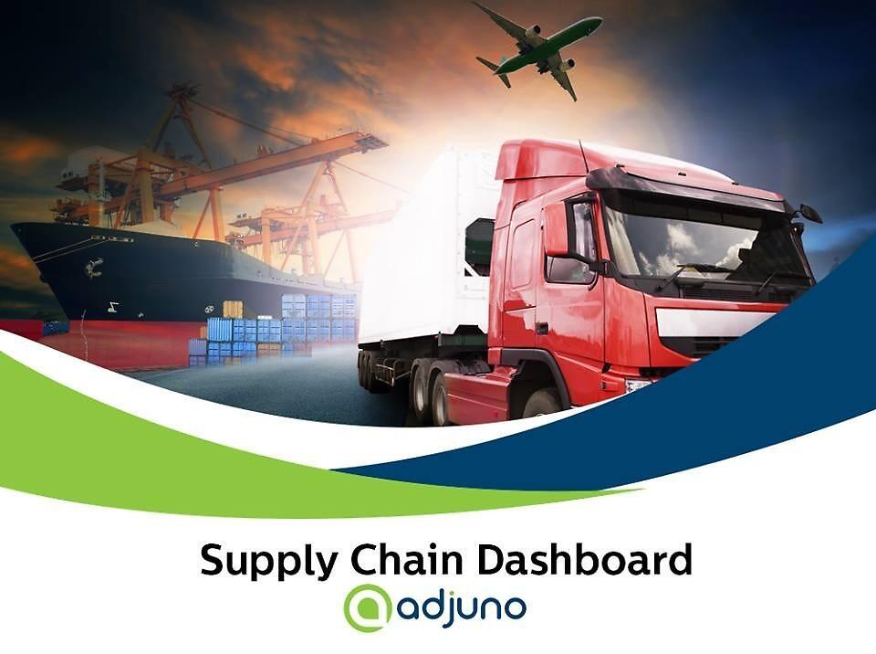 B2B Supply Chain Software | Supply Chain Dashboard | Adjuno by collinsmatt