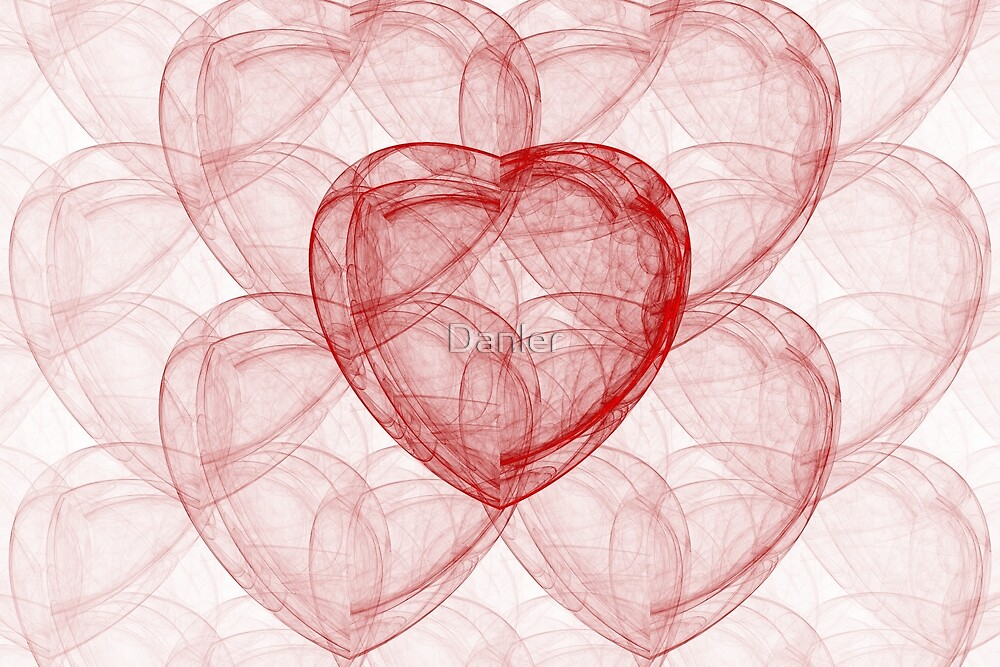 Fractal heart fantasy by Danler