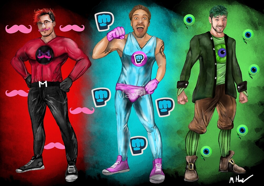 Youtube Heroes by MaxRH