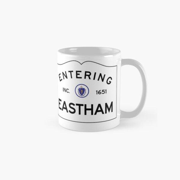 Entering Eastham Massachusetts - Commonwealth of Massachusetts Road Sign Classic Mug