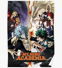 Póster My Hero Academia Season 3