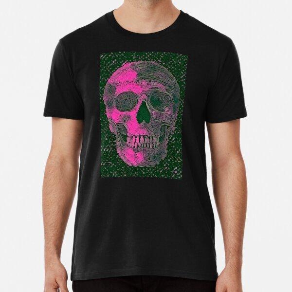 SKULLS PINK Premium T-Shirt