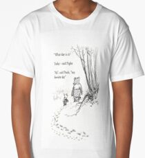 Winnie The Pooh Quotes To Fill Your Heart With Joy Long T-Shirt