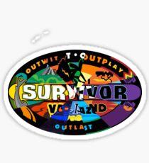 Survivor Logos Merged Sticker