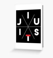 JiuJitsu Greeting Card