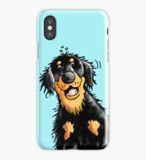Funny Hovawart Cartoon iPhone Case