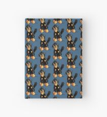 Funny Hovawart Cartoon Hardcover Journal