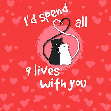 Cat Lover Shirt - 9 Lives by UrbanHype