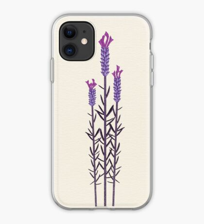 Butterfly Lavender iPhone Case