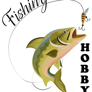 Fishing hobby by zibik-design