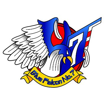 Captain Falcon Modern Logo Shirt by KveldStrom