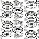 Braunston Plaque Pattern bywhacky by bywhacky