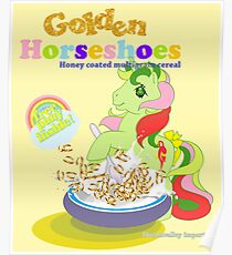 retro g1 my little pony cereal Poster
