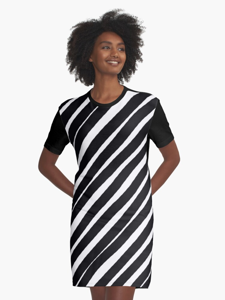Forty Five Degrees Graphic T-Shirt Dress Front